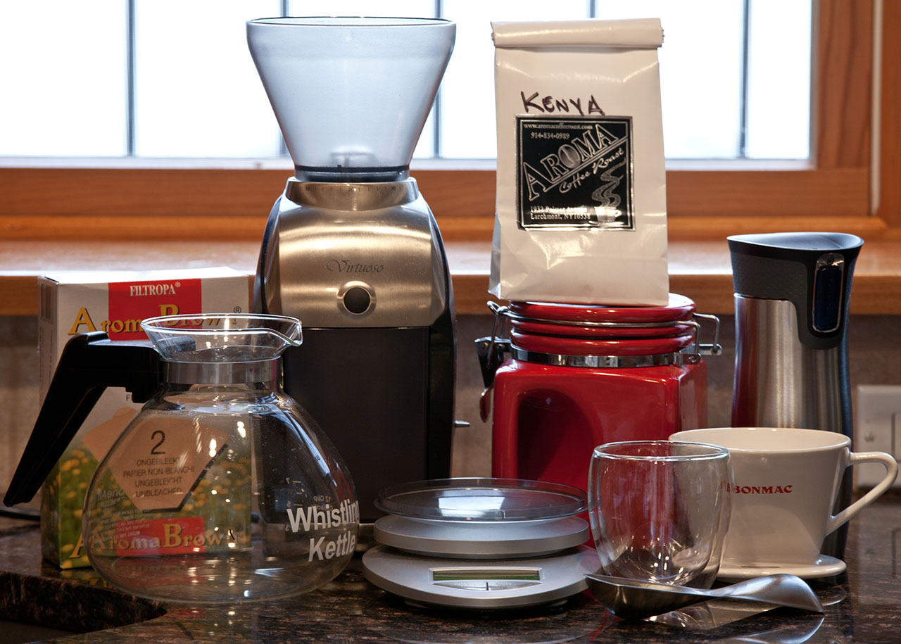 The Coffee Setup 2010 I Own A Lot Of Ways To Make But Ve Settled Into Pattern Marco Org