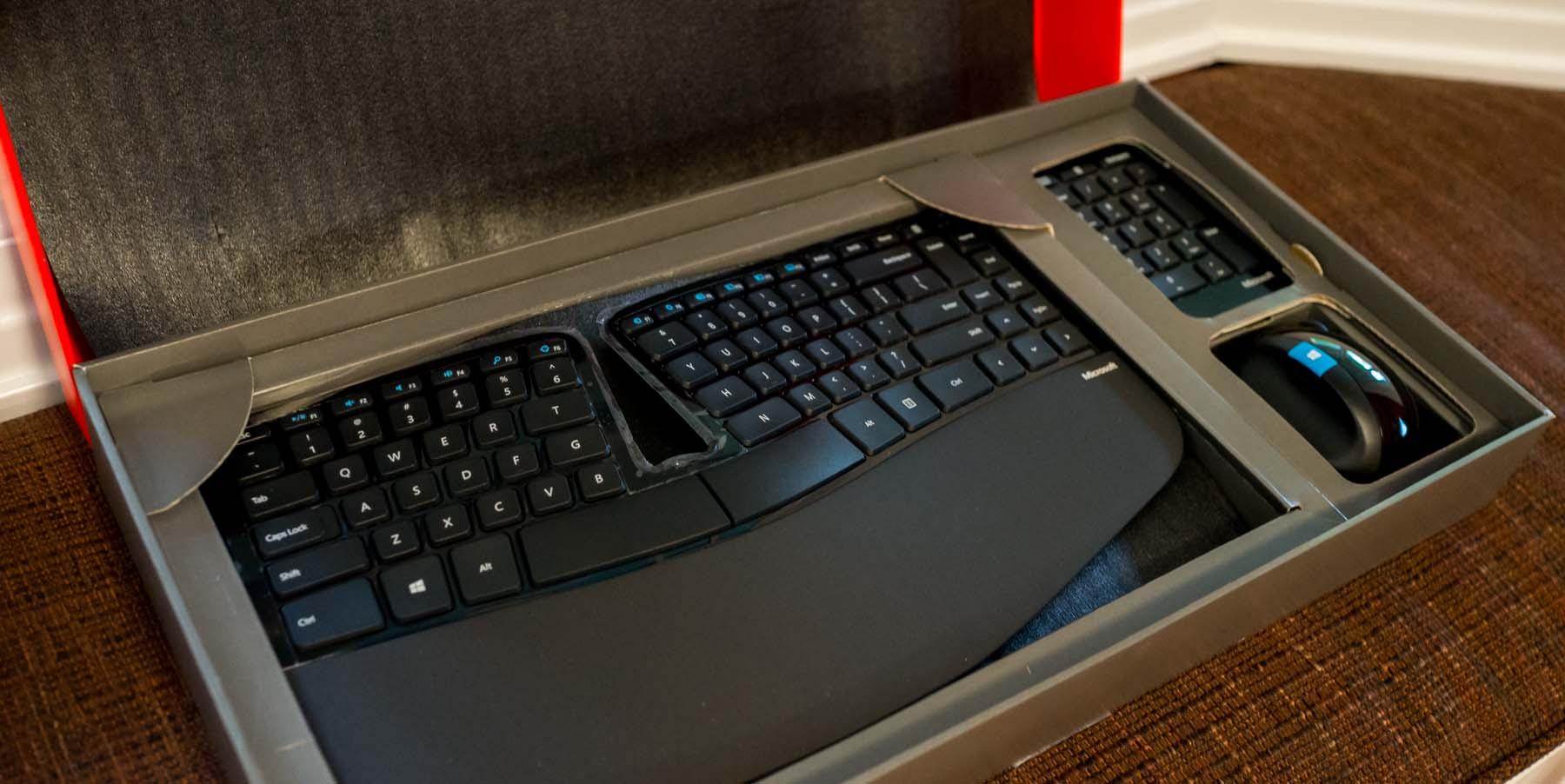 microsoft ergonomic keyboard 4000 instructions