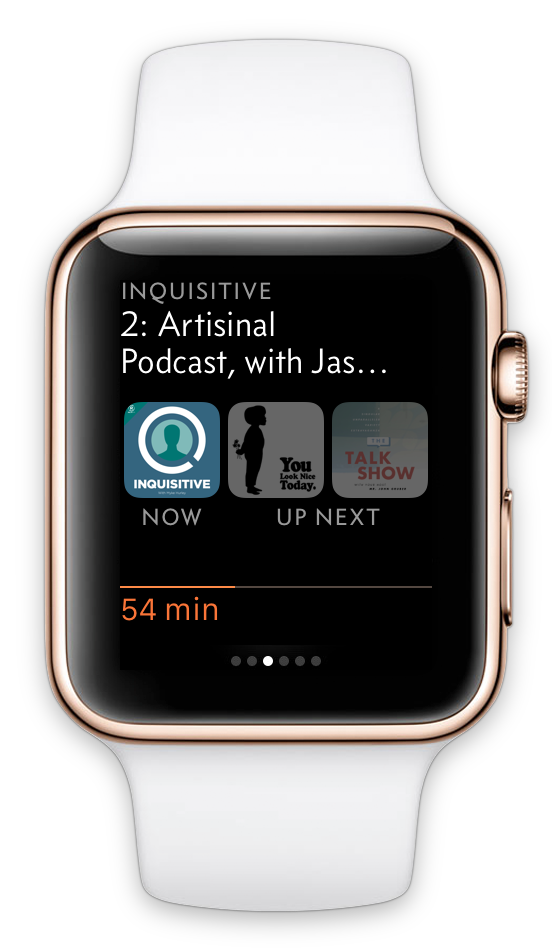 Redesigning Overcast\'s Apple Watch app – Marco.org