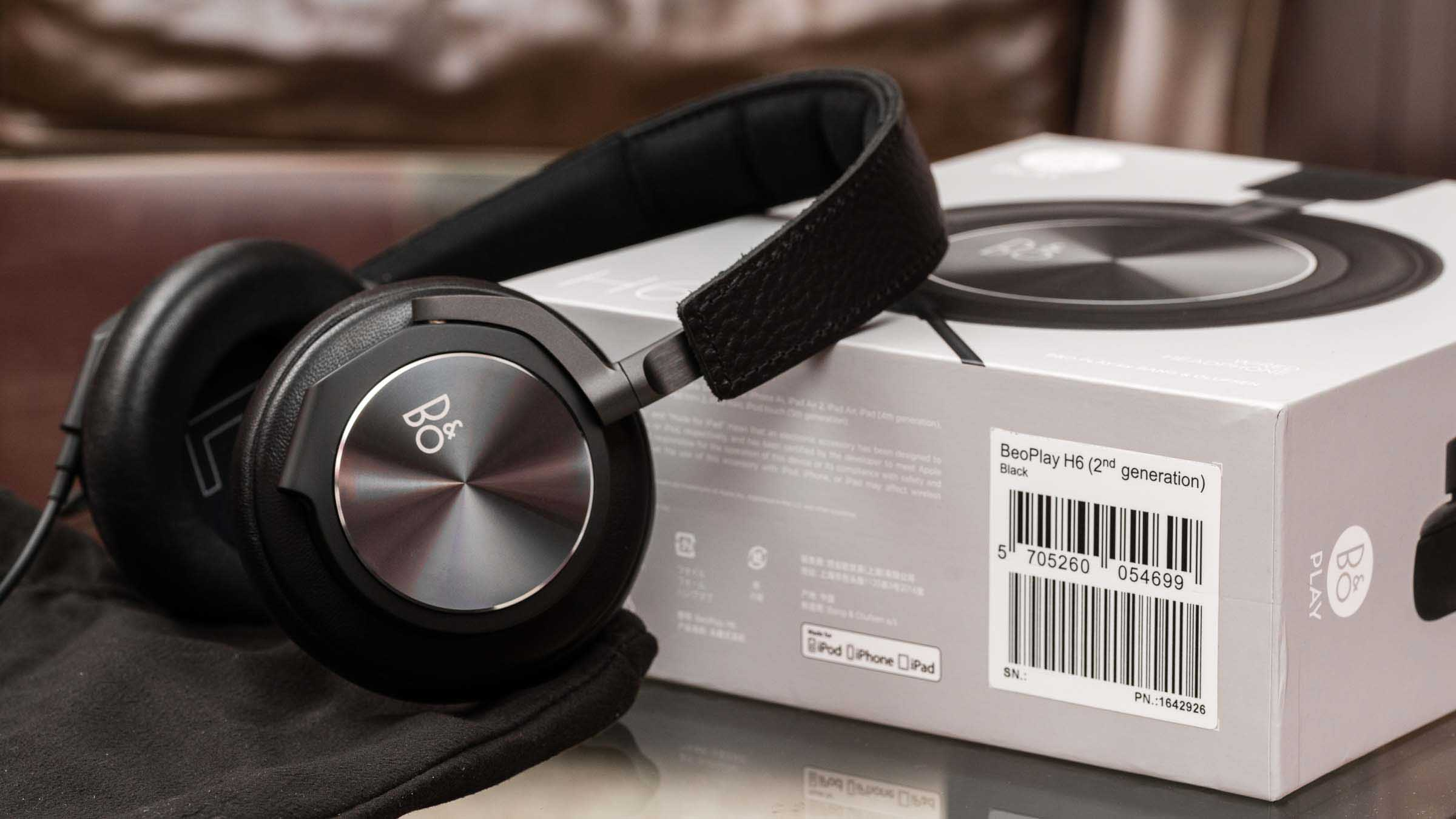 The new headphone king: B&O H6 (2nd generation)